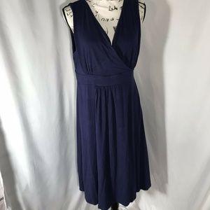 JM Collection Petite Empire Waist Dress Sz L